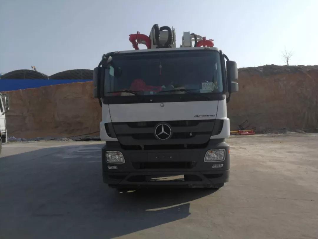 徐工奔驰HB62K混凝土泵车配件参数