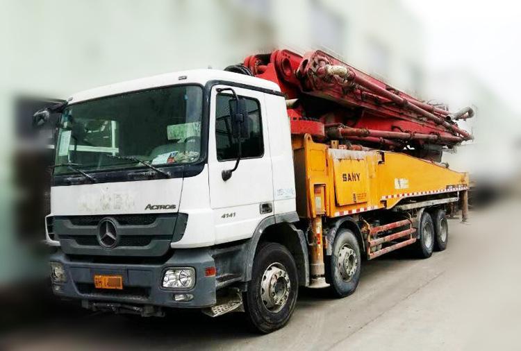 奔驰混凝土输送泵车配件的介绍